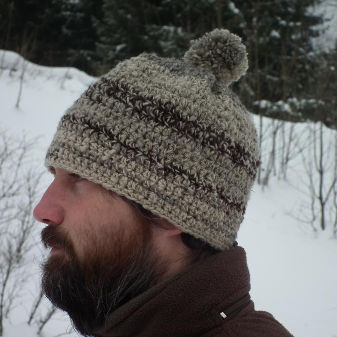Čapka pro chovatele ovcí - na zakázku
